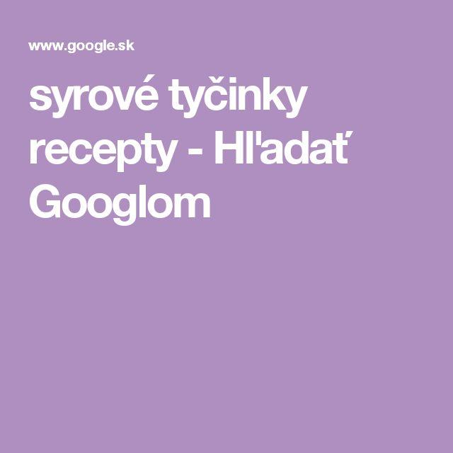 syrové tyčinky recepty - Hľadať Googlom