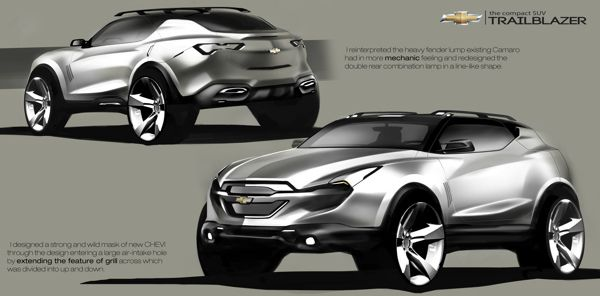 Chevrolet Compact SUV by Dongman Joo, via Behance