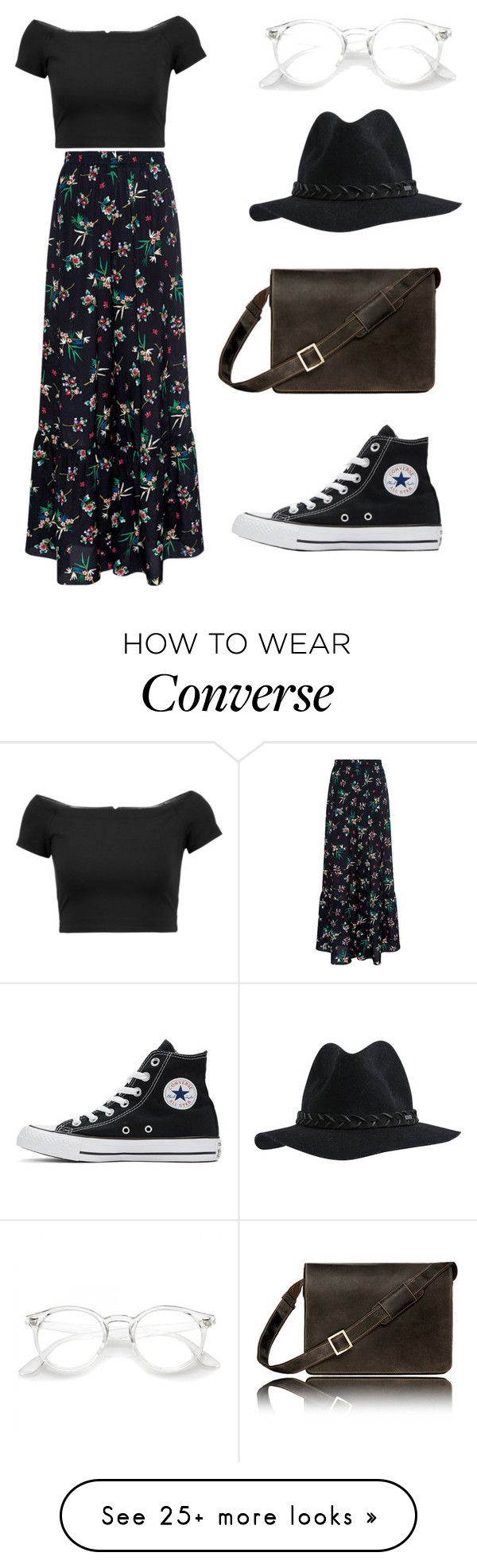 """""""Untitled #101"""" by vitoriaeinert on Polyvore featuring RED Valentino, Alice + Olivia, Converse and RVCA"""