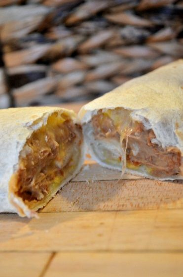 There's no denying it, many of us often get cravings. Here's one you can take care of! Get this great and light Bean and Cheese Burrito recipe from Sydney Andersen of Tastefully Frugal and you can also feed your family!