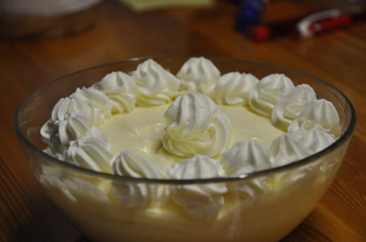 Mormors citronfromage (recipe in Danish)