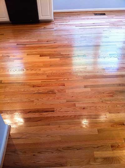 Red Oak Select With Clear Stain Bona Mega Gloss Wood Floor In 2018 Pinterest Flooring Hardwood Floors And