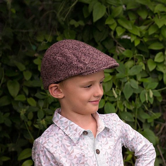 PATTERN 'GATSBY' Flat Cap 6months  adult by appleandfigpatterns