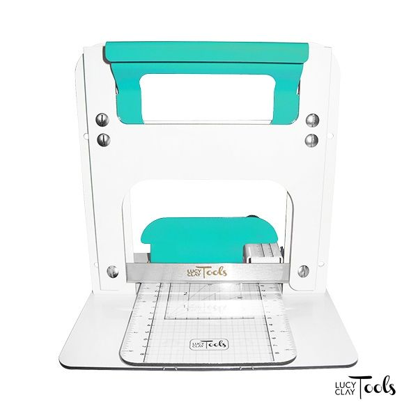 LC Slicer - teal | This version is out of stock, see and order other versions here: LC Store EU http://www.lucyclaystore.com/en/41-lc-slicer or LC Store USA: http://www.lucyclaystore.com/usa/53--lc-slicer | For more information, please visit www.lucyclayslicer.com