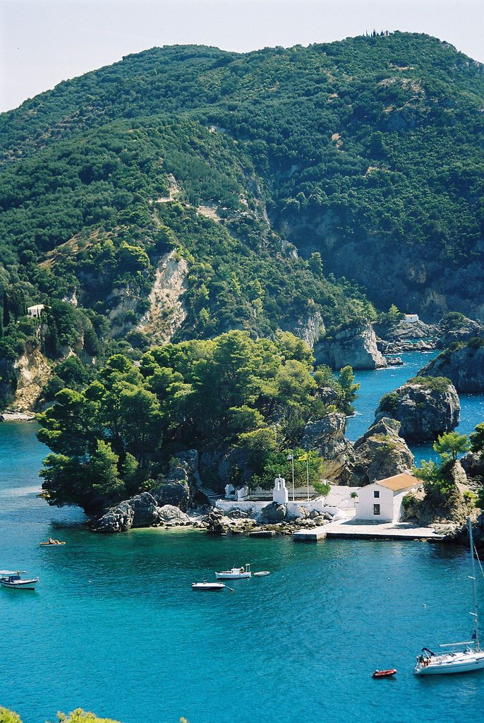 Parga, Greece (why Greece is my dream destination... Oh!)