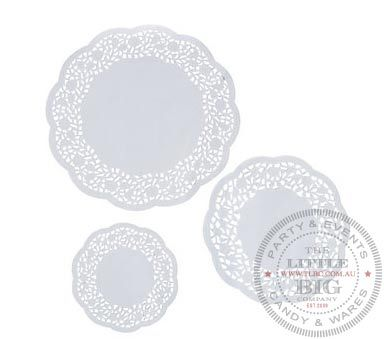 Large White Paper Doilies