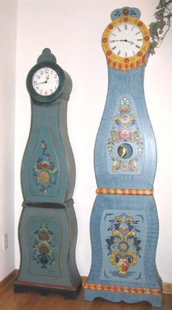 Arne's Mora Clocks - Handmade Scandinavian Grandmother Clocks
