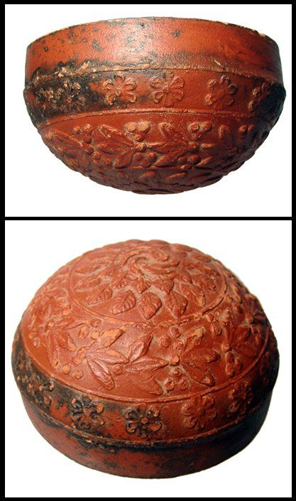 103: Hellenistic decorated Megarian redware bowl : Lot 103