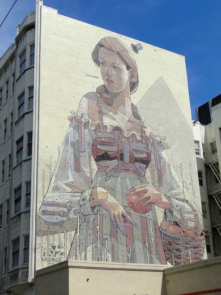 Best D ART Images On Pinterest Urban Art D Street Art - Spanish street artist transforms building facades into amazing artworks
