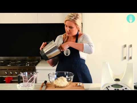 Thermomix cookbook author alyce alexandra's Cheat's Sourdough - YouTube