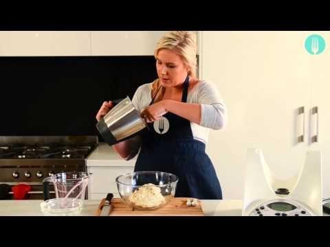 ▶ Thermomix cookbook author alyce alexandra's Cheat's Sourdough - YouTube