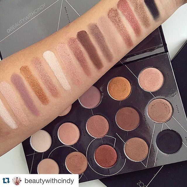 Sephora Aus #Repost x @beautywithcind Throwback to when I picked up this beauty  Zoeva Nude Spectrum Eyeshadow Palette.