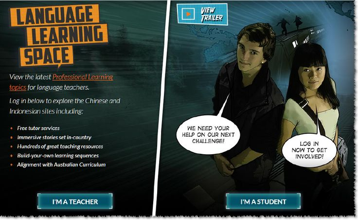 The language learning centre offers resources for language teachers and for students of languages. http://www.lls.edu.au