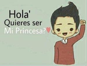 Imágenes que digan quieres ser mi princesa