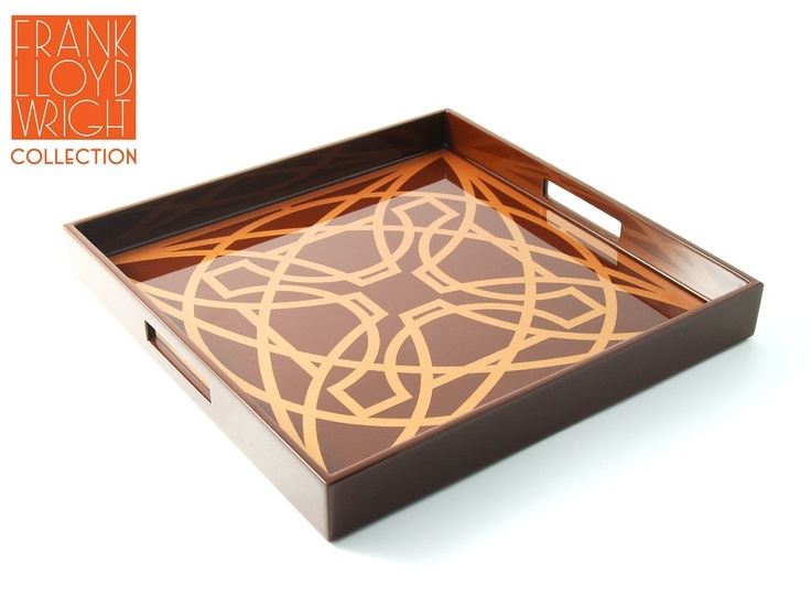 frank lloyd wright decorative tray truly beautiful collectors display accent inspiring interior design fans