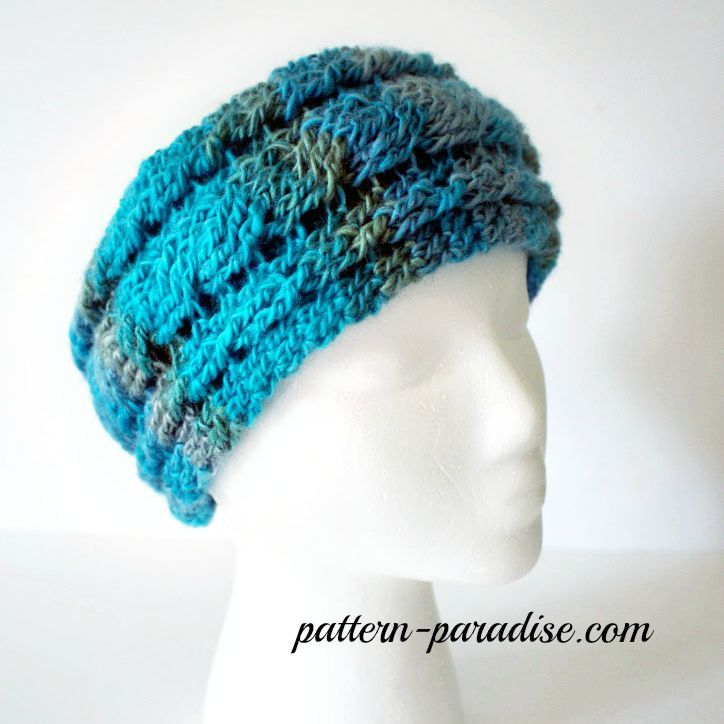 Free Crochet Pattern for Unforgettable Cable Headband - Ear Warmer by Pattern...