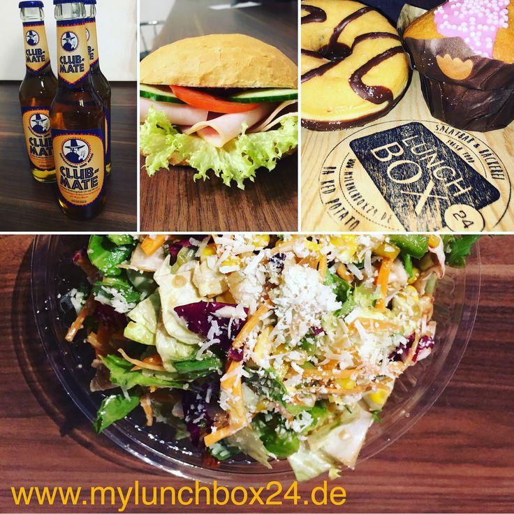 Ein #gesundesmittagessen von #mylunchbox24 einfach #nachhause oder in #büro bestellen!  #salatbar #bäckerei #belegtesbrötchen #salat #bakedpotato #kumpir #fresh #freshfood #healthyfood #düsseldorf #köln #delivery #lieferservice #americanbakery #mittagessen #lunch #lunchtime #instafood #clubmate
