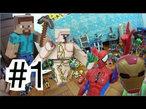 #1 Minecraft Golem de Ferro Steve  X Coringa Venom Cadeia Gotham Ctity  ... #minecraft #steve #creeper #enderman  #game #jogo #play #ps4 #xbox #xboxone #toys #toys #おもちゃ  #dolls #doll #kids #kids  #puppet #lego #imaginext #marvel #DC #Comics #escola #school #educação #education #kid #kids #lol #usa