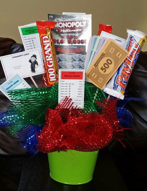 Client Thank You Gift I Used Monopoly Board Game Pieces