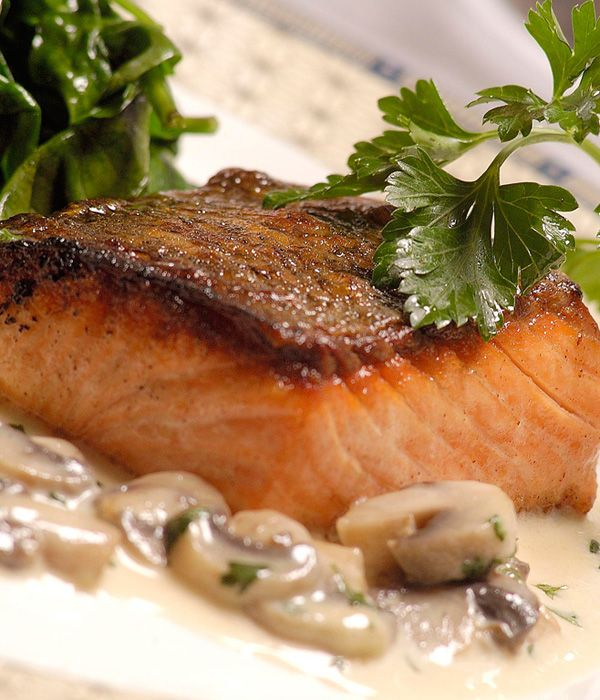 A simple, easy yet delicious pan fried salmon recipe from double Michelin star winning chef Paul Heathcote