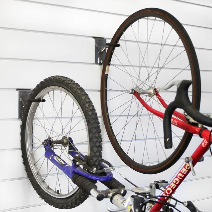 W Vertical Bike Hook 2 Pack