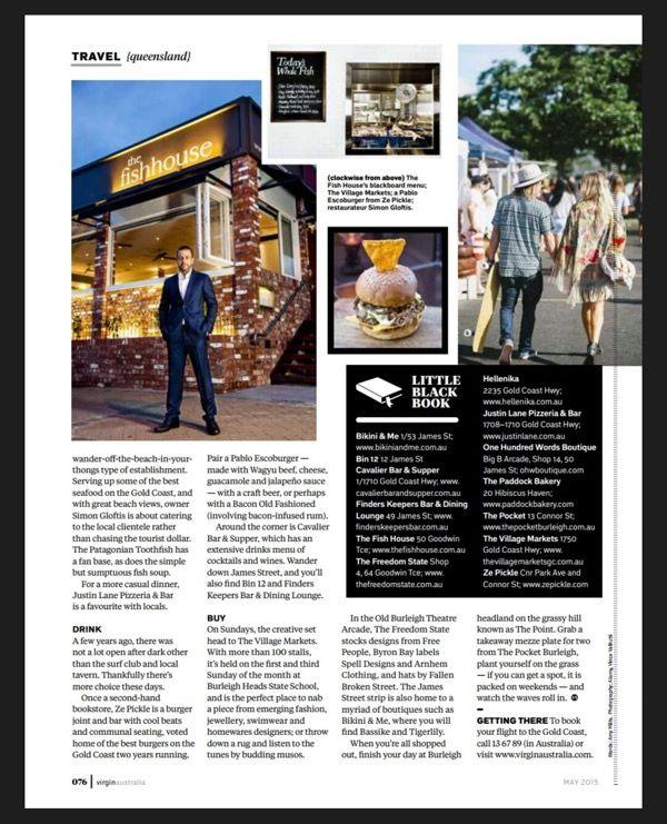 Voyeur Magazine Feature