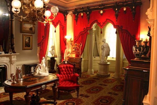 Renaissance Revival Parlor Jedediah Wilcox House 1870