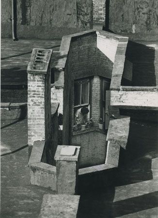 Andre-Kertesz  Room with a view...