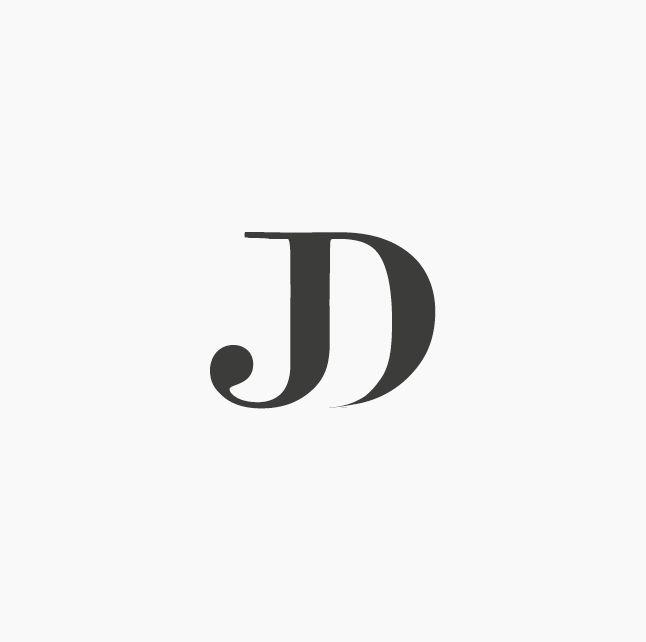 Design by ottocliman.it JK, Monogram, logo, design, graphic, letter, typography, jd logo, experiment, design, brand, idea, mark, symbol, logotype, logogram, j, d, elegant, classy, classic, fashion, style, vintage