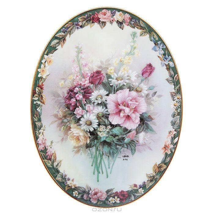 Овал-розы