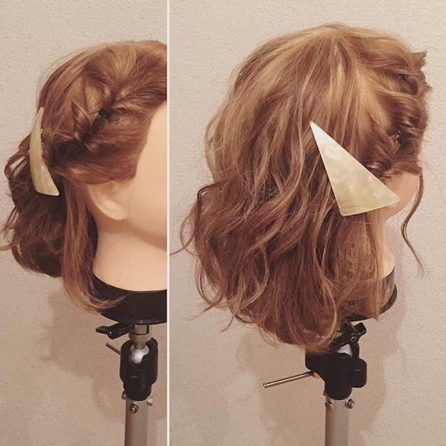 編み込みが苦手な方には くるりんぱ✖︎3️⃣ で作る、簡単アレンジがオススメ  ゴムは透明なゴムを使うと 更に馴染んで可愛いですよ  バレッタで最後のゴムは隠しましょう  #ダウンスタイル #hair #アレンジ #美容院 #美容師 #ヘアデザイン #hairdesing #ヘアアレンジ #ボブアレンジ #ルーズアレンジ #ツイスト #instagood #cute #cool #フォロー #follow #me #followme  #ロングアレンジ #longhair #hairsalon #編み込み #ロープ編み #hairstyle #フィッシュボーン #サンカクバレッタ#くるりんぱ #アレンジ動画