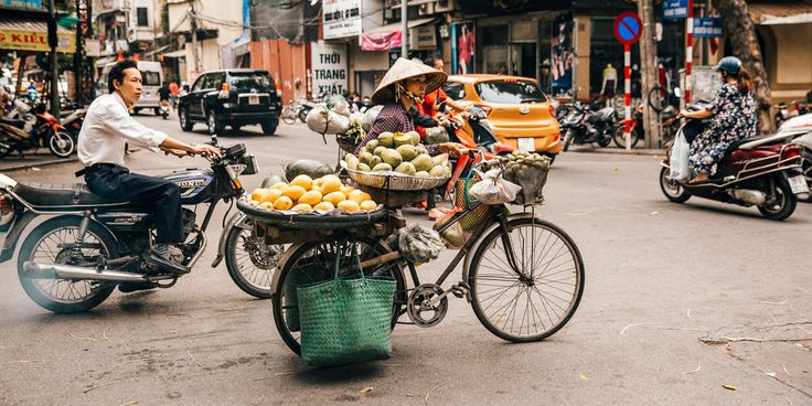 Bicycles remain a staple to the heart of a bustling Hanoi.   LEARN MORE: http://snip.ly/y6hv8?utm_content=buffer326ba&utm_medium=social&utm_source=pinterest.com&utm_campaign=buffer.   #bicycle #inspiration #vietnam #adventure #tour #hanoi #bikeyouradventure