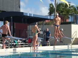 Multi-Olympic winner, Michael Phelps, training at FIU's Biscayne Bay campus (BBC).