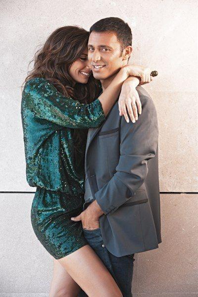 Turkish Singer Mustafa Sandal And His Wife Emina Jahovic
