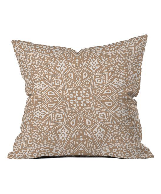 Aimee St. Hill Amirah Neutral Throw Pillow