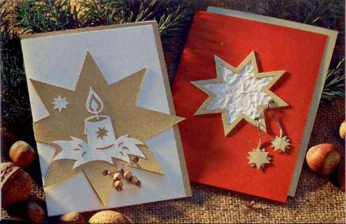 Открытка с рождеством своими руками страна мастеров, картинки деда мороза