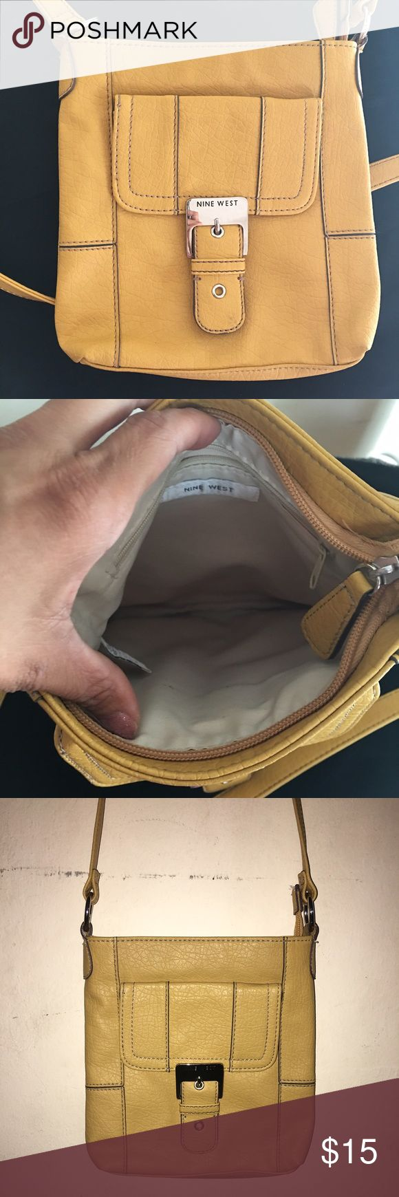 Nine West purse, like new Very nice Nine West purse, like new condition, worn only once, shoulder or cross body purse. Adjustable strap. Bundle to save more! Nine West Bags Shoulder Bags