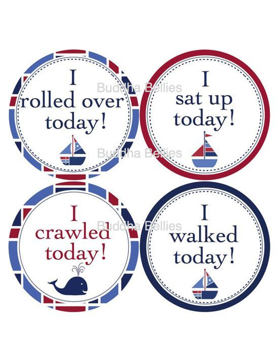 Milestone Stickers for Baby Boys - Matches our Nautical Set - Nautical Nursery on Etsy, #Lovely baby #Lovely Newborn  http://lovely-newborn-photos-618.hana.lemoncoin.org
