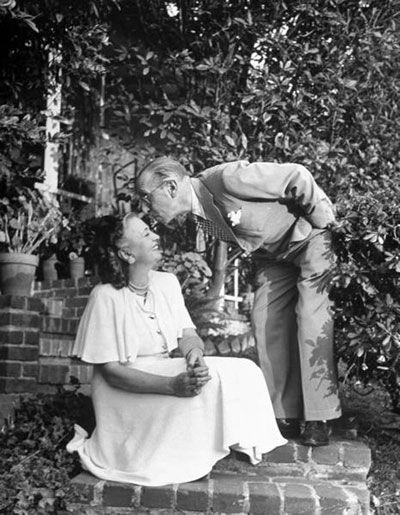 Igor Stravinsky and his wife, Vera de Bosset.