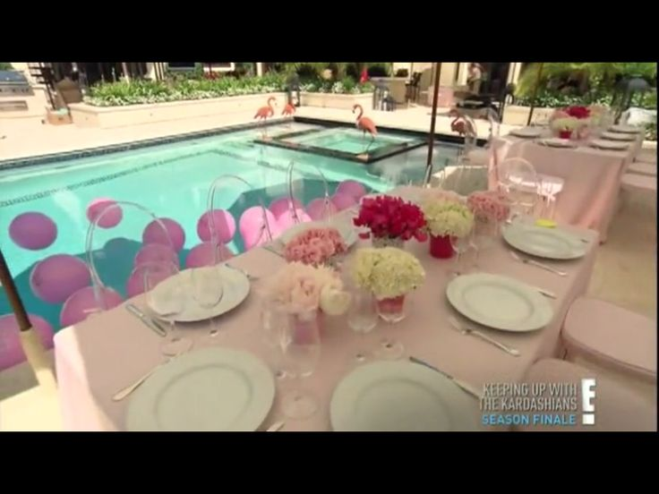 Kourtney Kardashian Baby Shower!