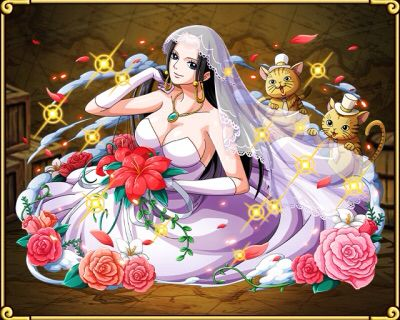 Optc bridal series hancock one piece treasure cruise pinterest one piece boas and bridal - One piece luffy x hancock ...