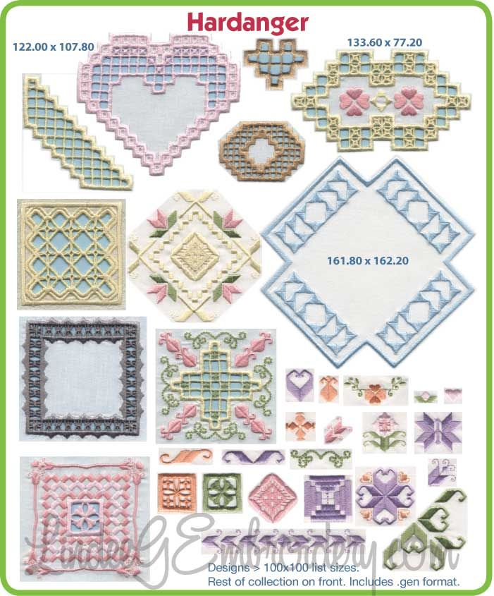 Hardanger Bundle: Collection + Ring Bearer Wedding Pillow