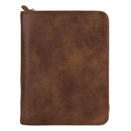 Classic Franklin Covey Basics Leather Binder