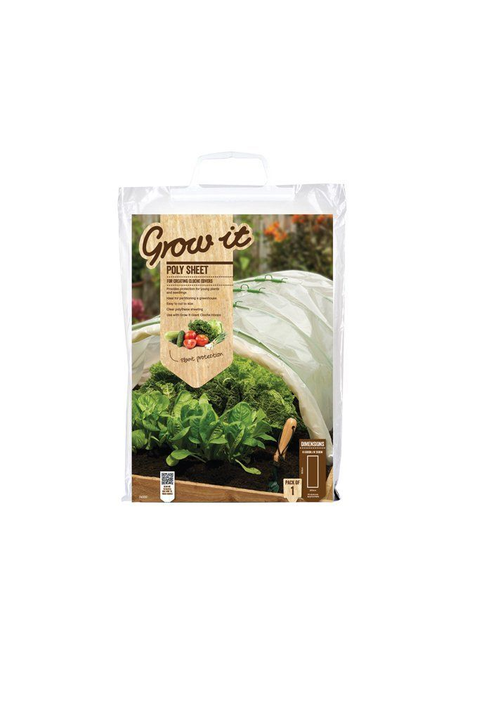 Gardman Poly Sheet 6m x 2m (280 gauge poly bag) Clear -- Want to know more, click on the image. (This is an affiliate link) #Gardening