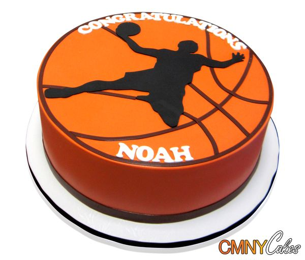 cmnycakes.com gallery2 d 24911-4 Single+Tier+Basketball+Cake