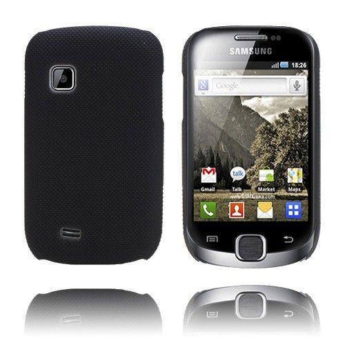 SuperGrip (Musta) Samsung Galaxy Fit Suojakuori