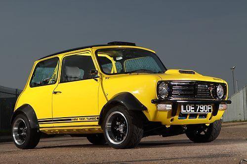 1968 Mini Clubman with Toyota Starlet Turbo Engine..