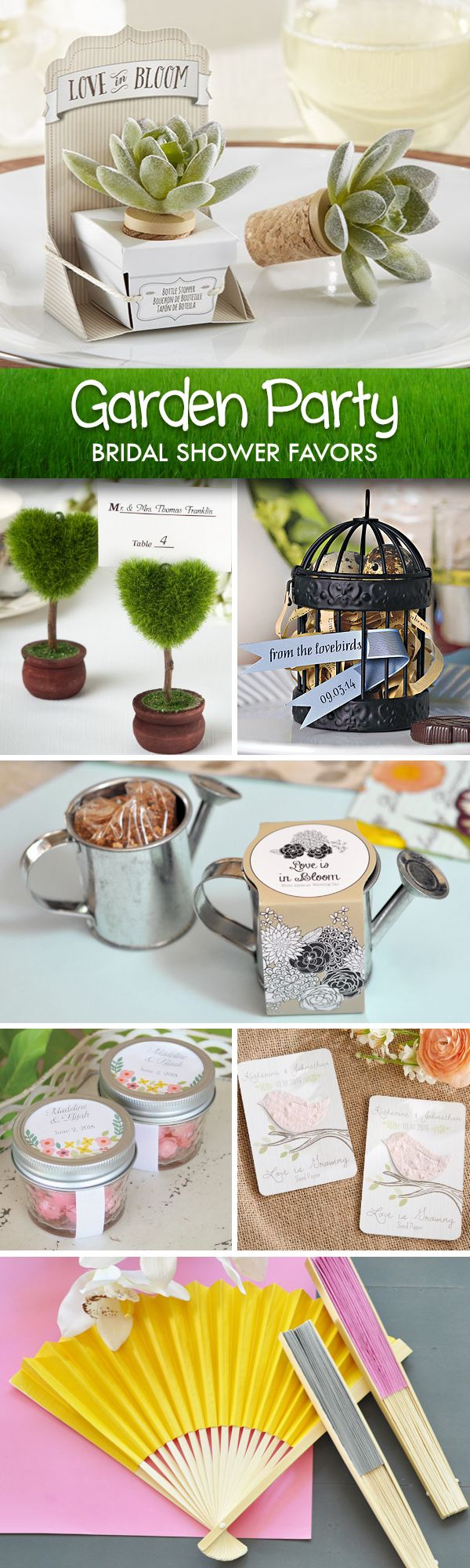 country style wedding shower ideas%0A Offers garden wedding favors  wild flower seed favors  butterfly placecard  holders and calla lily flower favors that are perfect for any garden or
