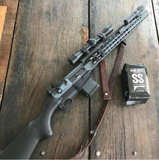 ...AR with no pistol grip