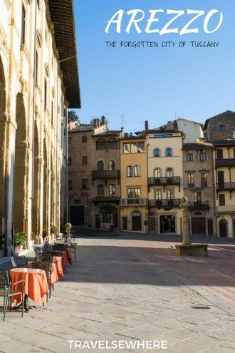 The often overlooked, forgotten city of Arezzo in Tuscany is well worth a visit when in Italy, via @travelsewhere
